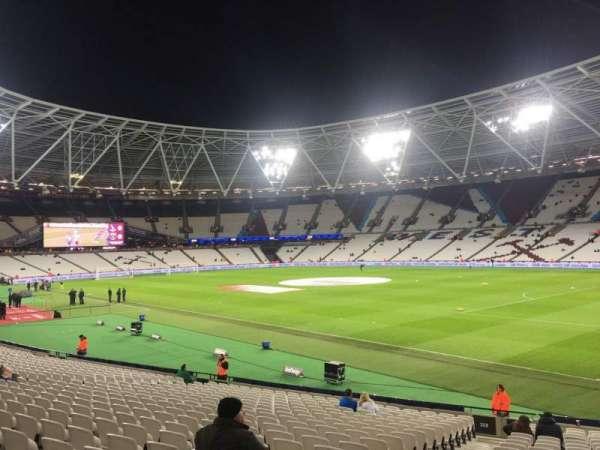London Stadium, section: 114, row: 23