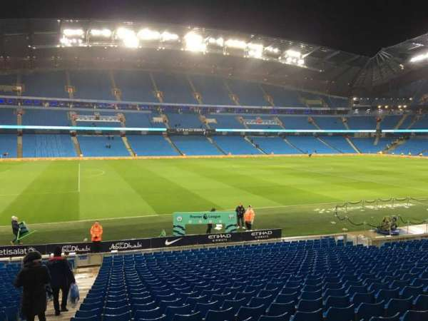 Etihad Stadium (Manchester), section: 139, row: Y, seat: 795