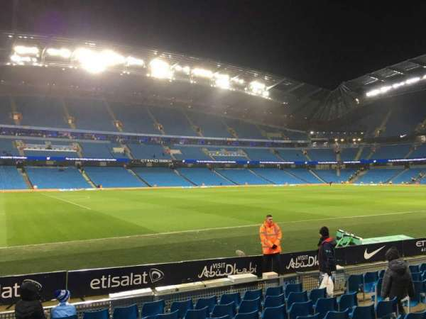 Etihad Stadium (Manchester), section: 131, row: G, seat: 810