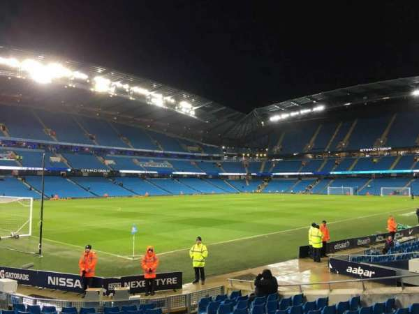 Etihad Stadium (Manchester), section: 132, row: M, seat: 870