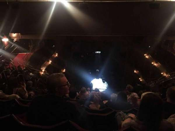 Palace Theatre (West End), section: Balcony, row: M, seat: 16