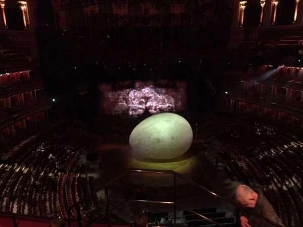 Royal Albert Hall, section: Circle T, row: 4, seat: 106