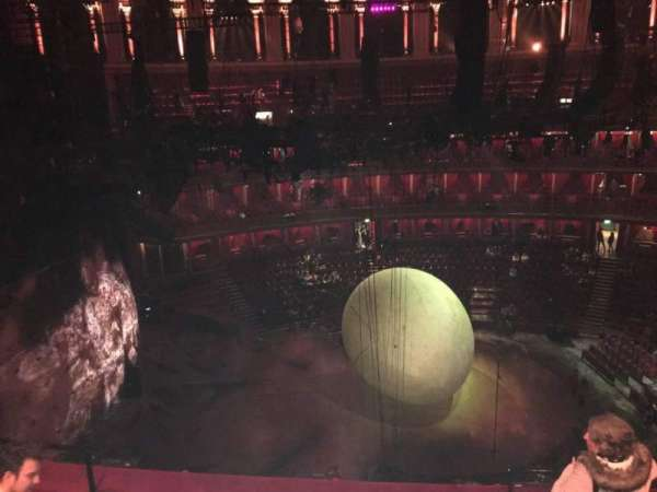 Royal Albert Hall, section: Circle Q, row: 4, seat: 20