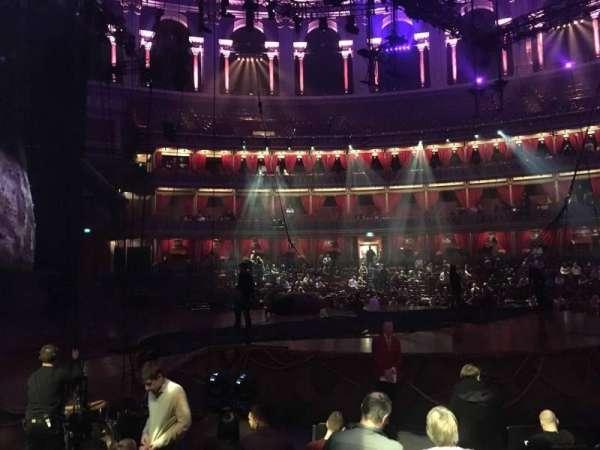 Royal Albert Hall, section: Stalls H, row: 7, seat: 25