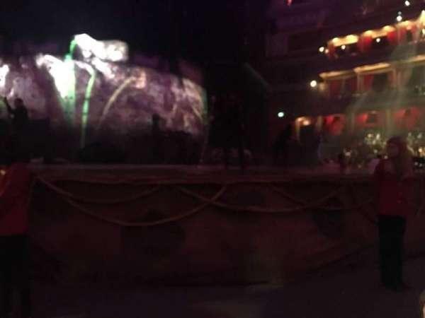 Royal Albert Hall, section: Floor, row: B, seat: 19