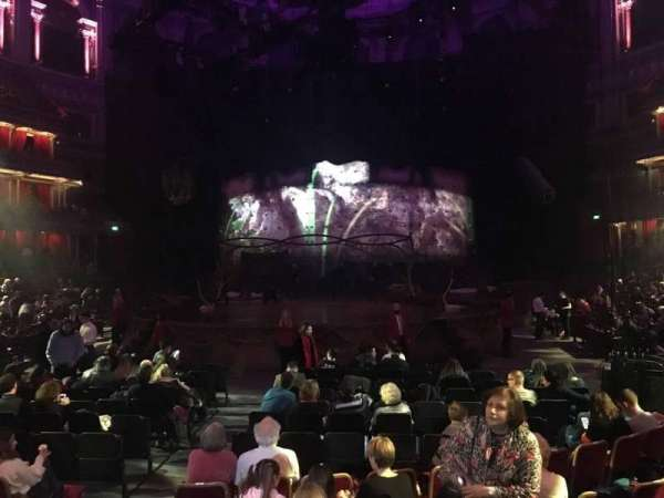 Royal Albert Hall, section: Stalls K, row: 7, seat: 78