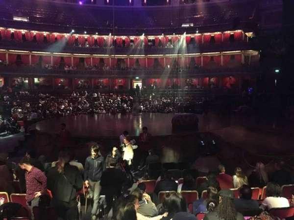 Royal Albert Hall, section: Stalls M, row: 9, seat: 133