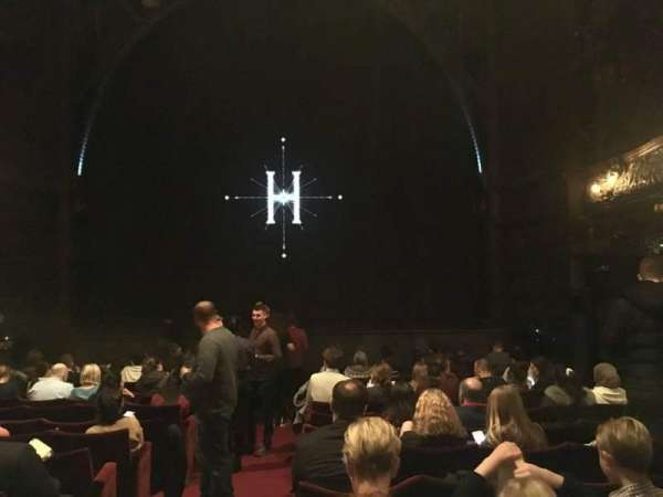 Palace Theatre (West End), section: Stalls, row: L, seat: 15