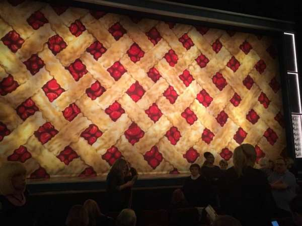 Forrest Theatre, section: Orchestra C, row: F, seat: 112