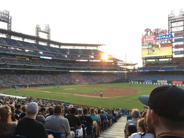 Citizens Bank Park, section: 112, row: 31, seat: 18