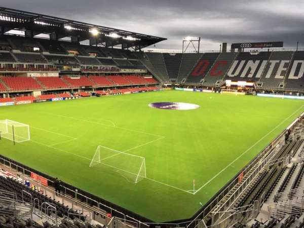 Audi Field, section: 133, row: 18, seat: 8