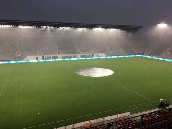 Audi Field, section: 108, row: 4, seat: 18