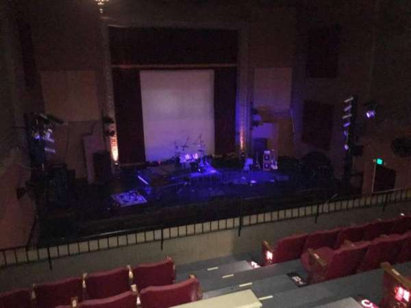 The Mauch Chunk Opera House, section: Balc Left, row: D, seat: 103