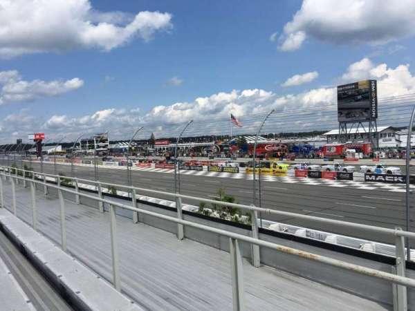 Pocono Raceway, section: 107, row: 3, seat: 13