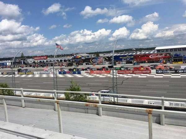 Pocono Raceway, section: 111, row: 4, seat: 20