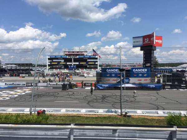 Pocono Raceway, section: 121, row: 5, seat: 14