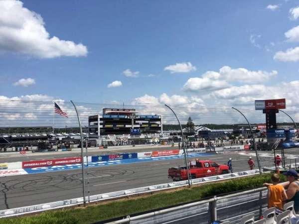 Pocono Raceway, section: 125, row: 6, seat: 10