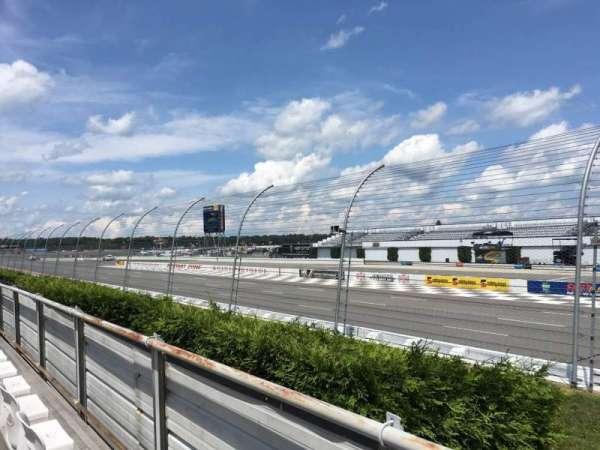 Pocono Raceway, section: 127, row: 2, seat: 14