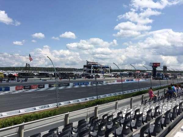 Pocono Raceway, section: 129, row: 8, seat: 14