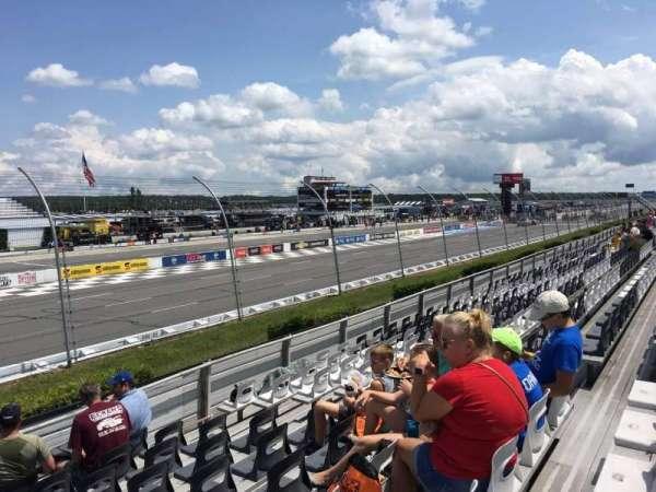 Pocono Raceway, section: 131, row: 10, seat: 7