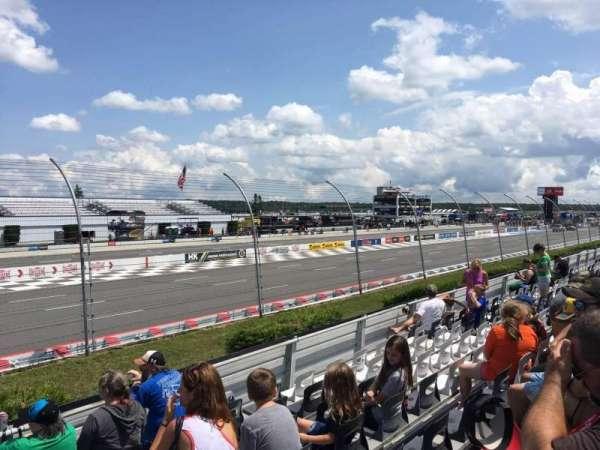Pocono Raceway, section: 133, row: 8, seat: 1