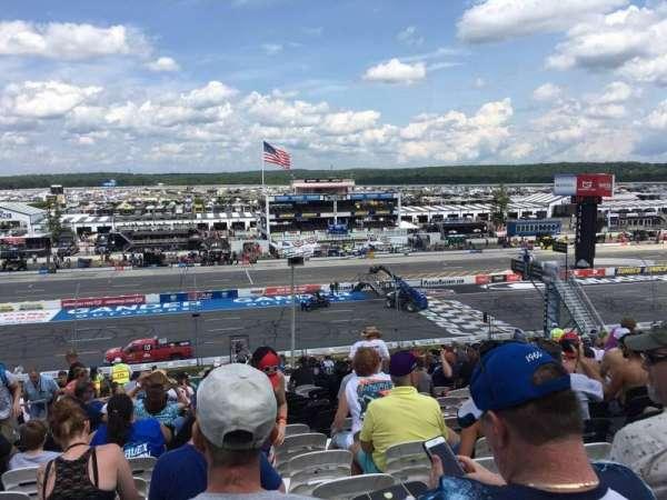 Pocono Raceway, section: 227, row: 38, seat: 19