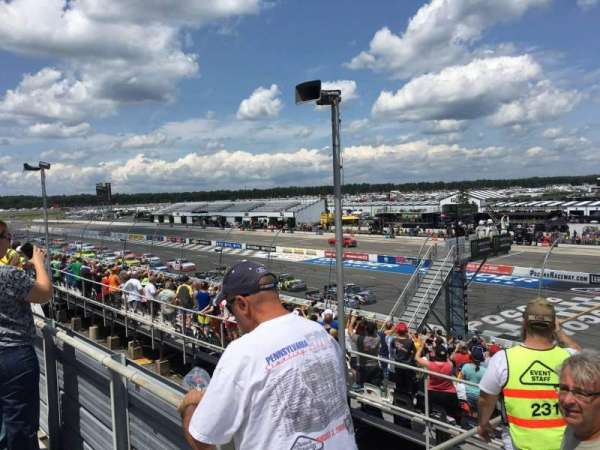 Pocono Raceway, section: 224, row: 19, seat: 1