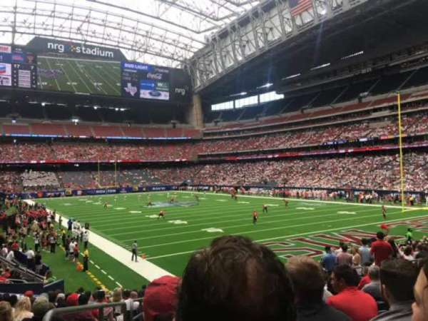 NRG Stadium, section: 119, row: U, seat: 20