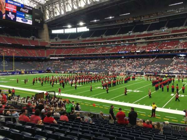 NRG Stadium, section: 123, row: R, seat: 10