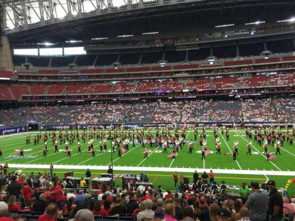 NRG Stadium, section: 126, row: X, seat: 5