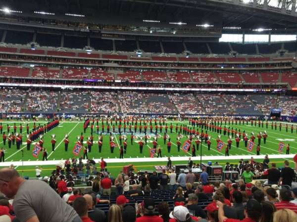 NRG Stadium, section: 127, row: U, seat: 14
