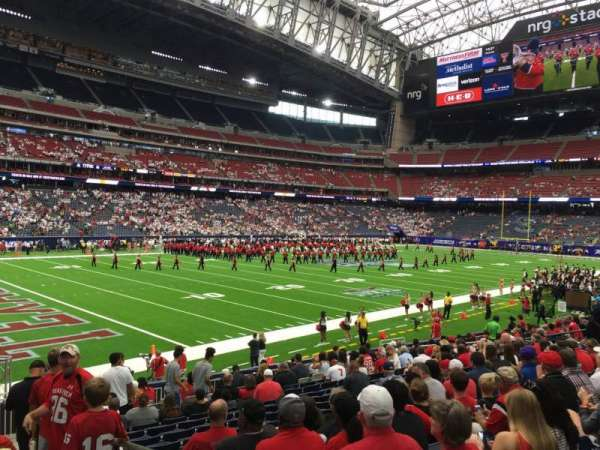 NRG Stadium, section: 132, row: R, seat: 1