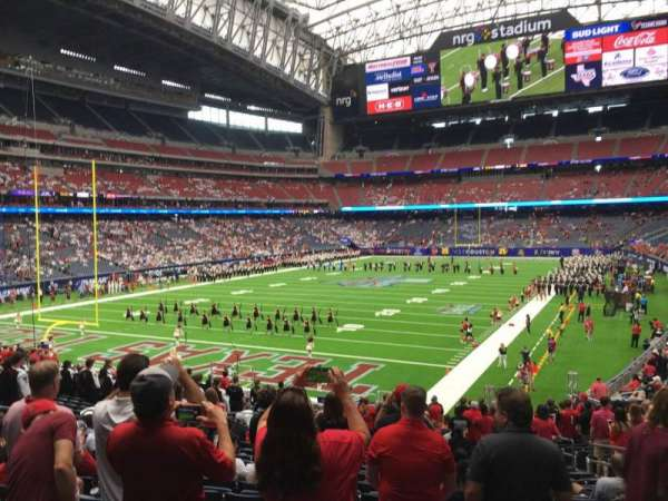 NRG Stadium, section: 134, row: Bb, seat: 8