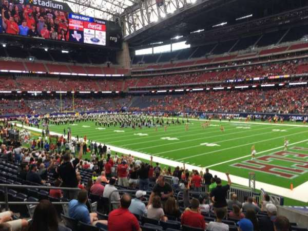 NRG Stadium, section: 101, row: I, seat: 9
