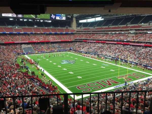 NRG Stadium, section: 329, row: Aca