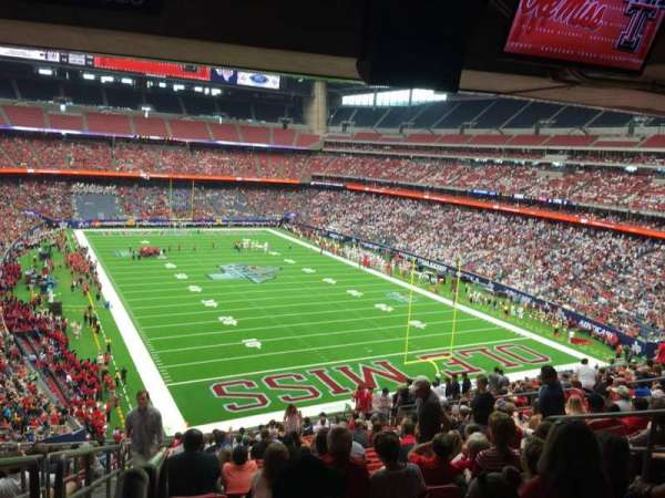 NRG Stadium, section: 326, row: V, seat: 18