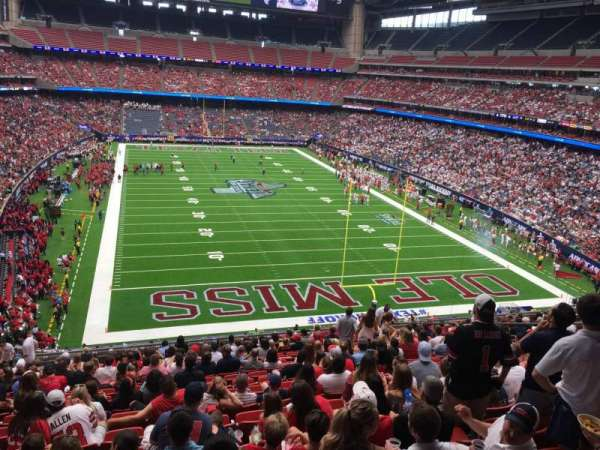 NRG Stadium, section: 325, row: U, seat: 12