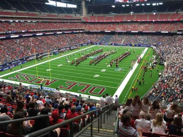 NRG Stadium, section: 320, row: S, seat: 16
