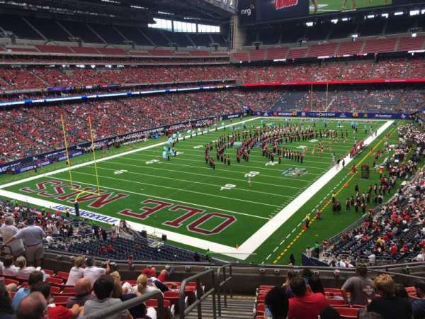 NRG Stadium, section: 319, row: K, seat: 6