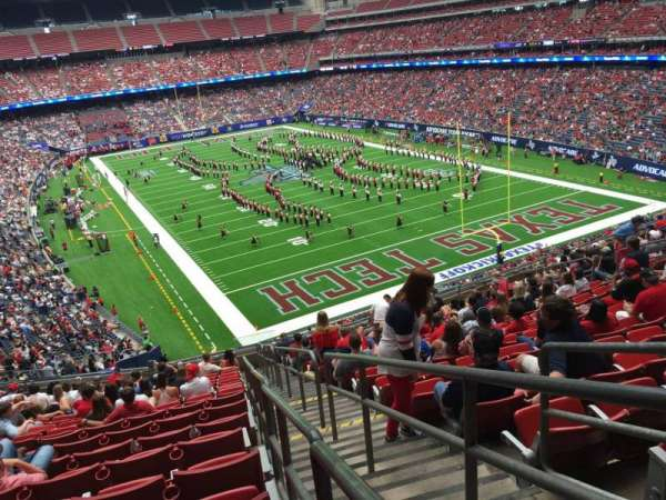 NRG Stadium, section: 355, row: S, seat: 1
