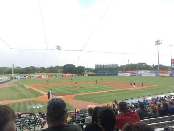 Nelson W. Wolff Municipal Stadium, section: 204, row: T, seat: 1