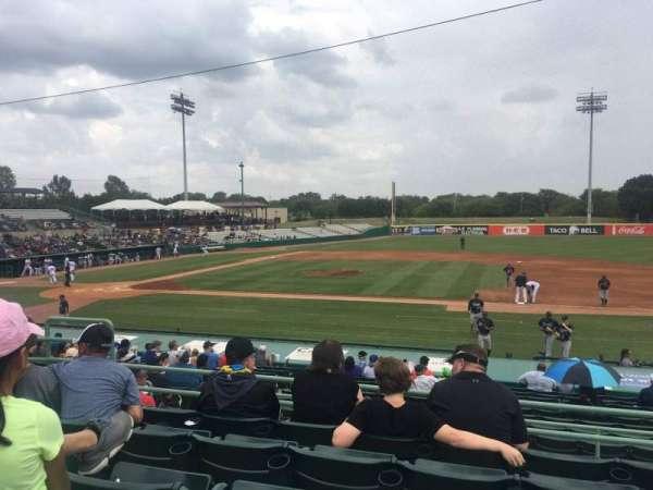 Nelson W. Wolff Municipal Stadium, section: 210, row: O, seat: 8