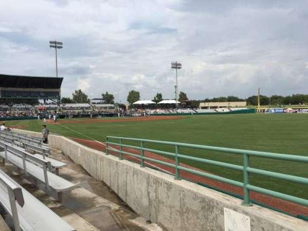 Nelson W. Wolff Municipal Stadium, section: 126, row: G, seat: 2
