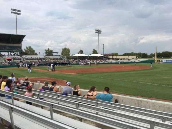 Nelson W. Wolff Municipal Stadium, section: 118, row: G, seat: 16