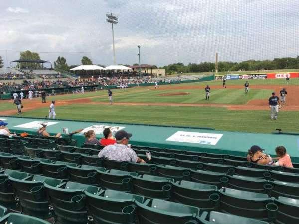 Nelson W. Wolff Municipal Stadium, section: 112, row: J, seat: 10