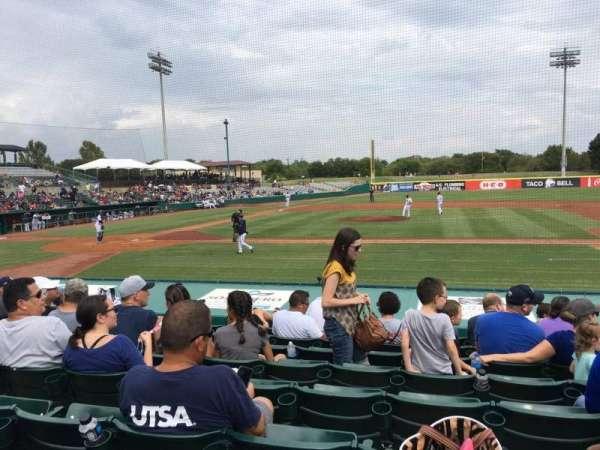 Nelson W. Wolff Municipal Stadium, section: 110, row: J, seat: 8