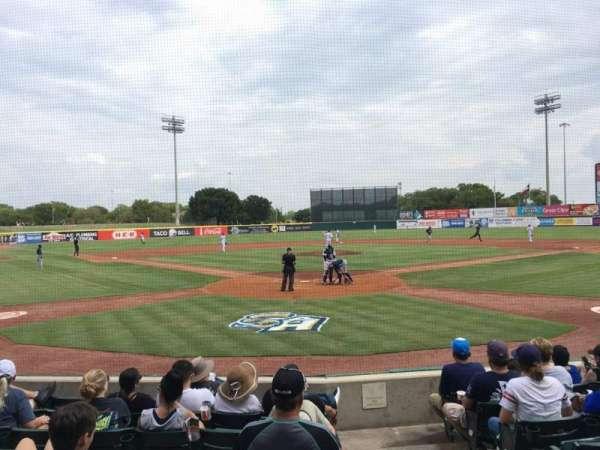 Nelson W. Wolff Municipal Stadium, section: 100, row: H, seat: 1