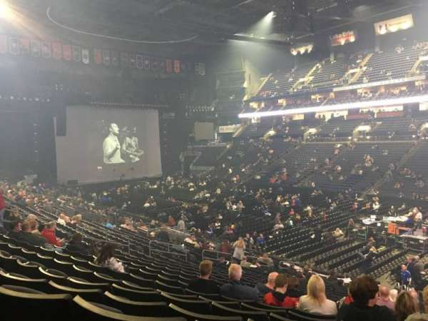 Nationwide Arena, section: 112, row: Y, seat: 4