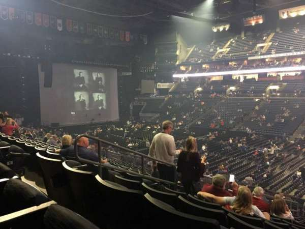 Nationwide Arena, section: 112, row: Y, seat: 22