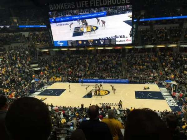 Bankers Life Fieldhouse, section: 116, row: 9, seat: 16